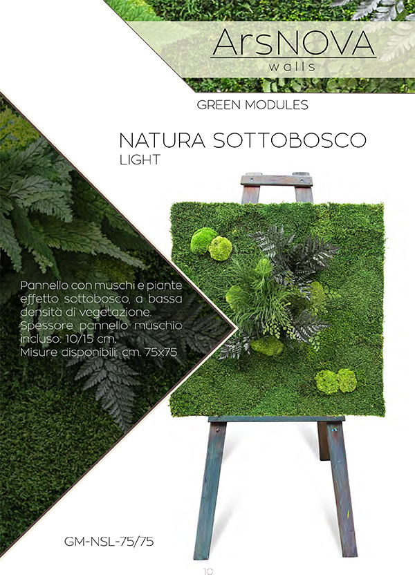 Ars Nova Walls Natura Sottobosco Light
