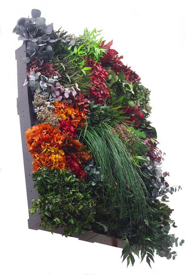 Pareti vegetali modulari rivestimenti decorativi con for Rivestimenti decorativi pareti